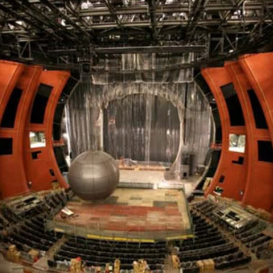 Cirque du Soleil's Zaia theater under construction, Macau, China S.A.R.