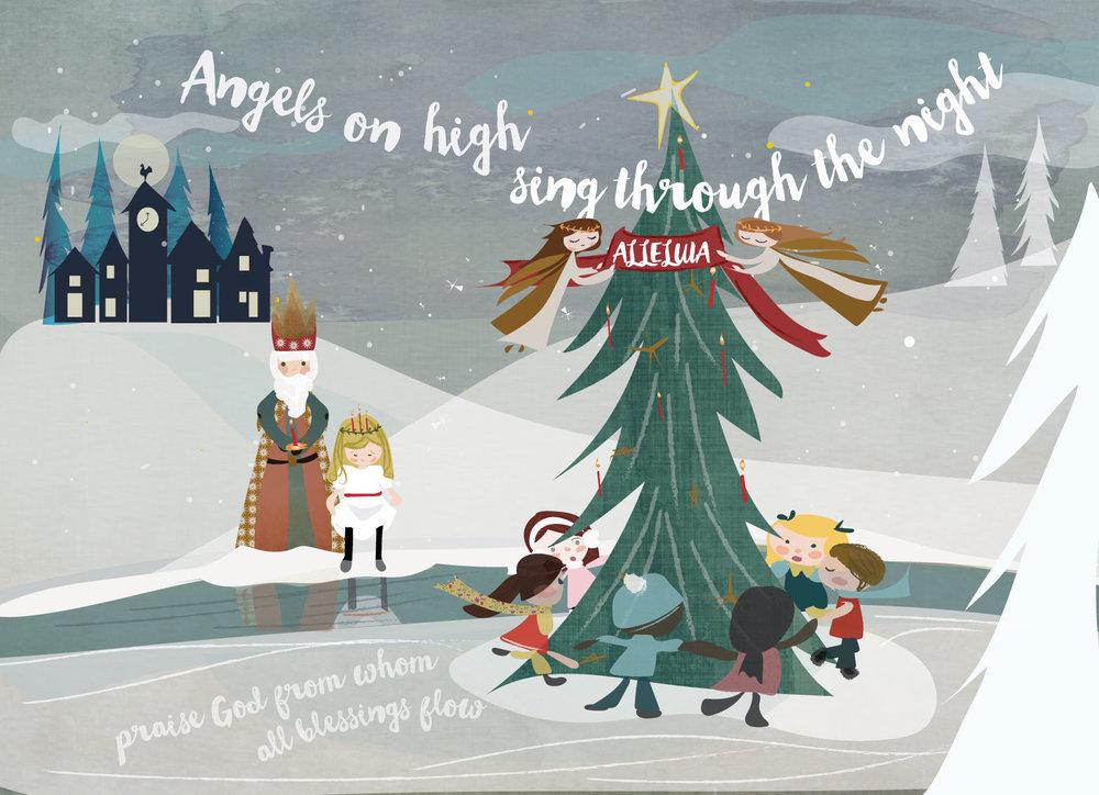 holiday card set / Sara Groves