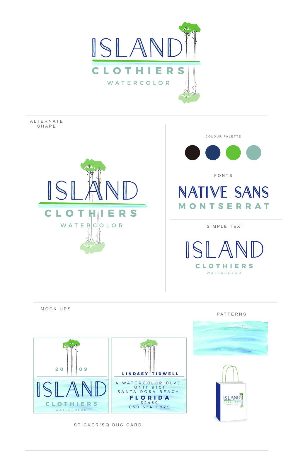 Logo Design: Island Clothiers