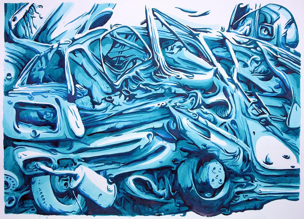 Blue Ink Study