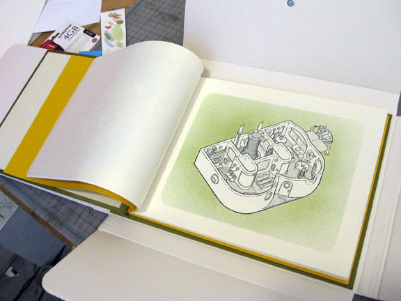 Letterpress book  available here . Individual prints can be  purchased here .