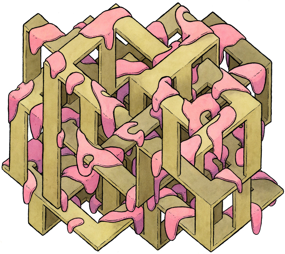 Escher Spooge