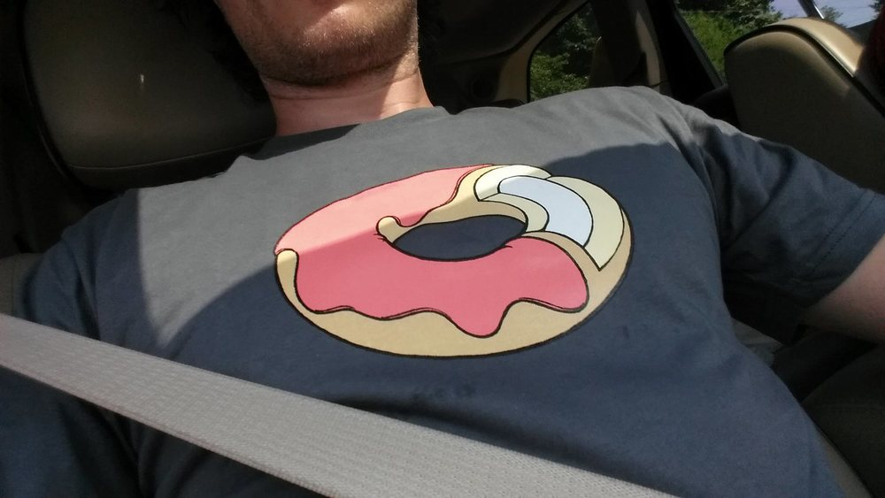 Do you need your own custom donut drawing or even a donut t-shirt? You can getthem here.