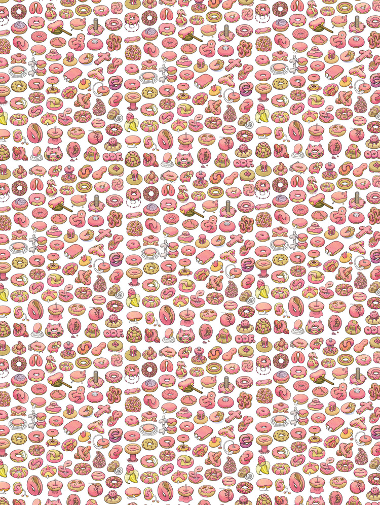 Donut Wallpaper headed to Rockland, ME