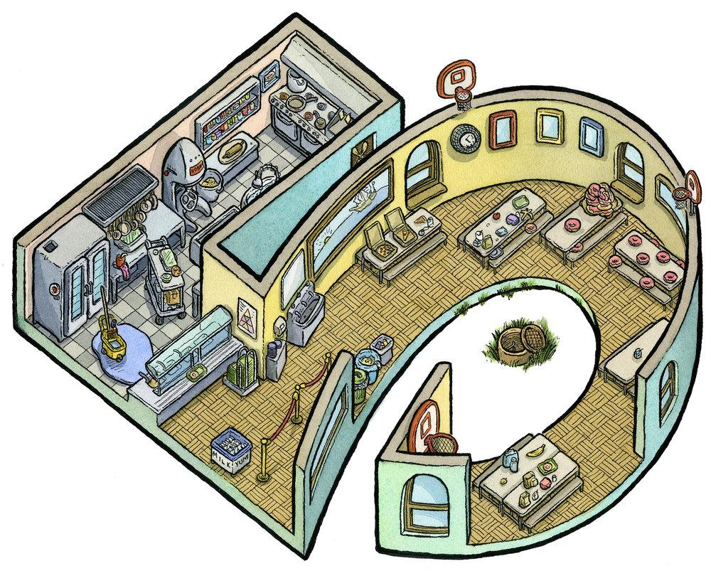 5: Cafeteria