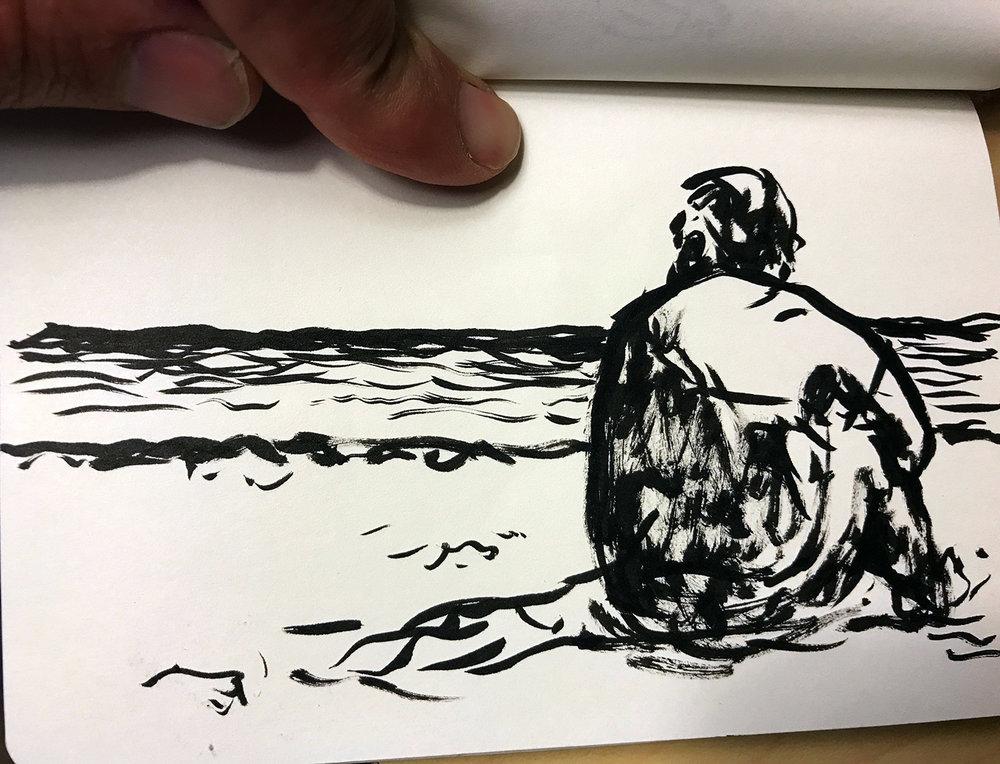 Jacob Riis beach, 6-25-17