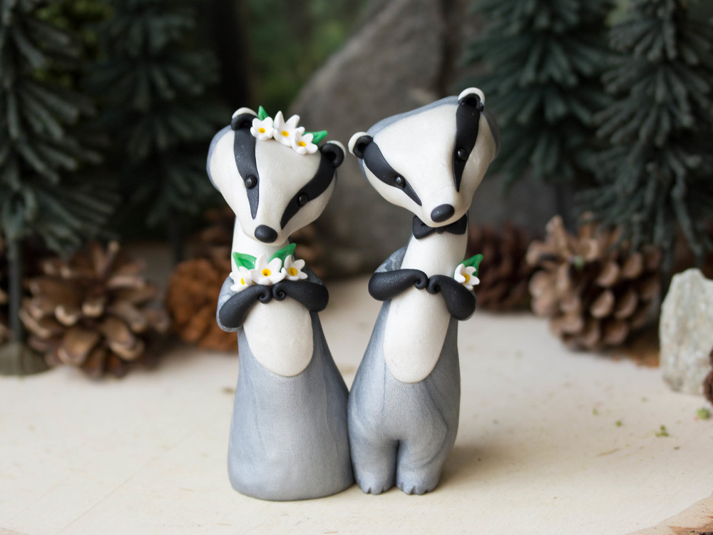 Eurasian Badger Wedding