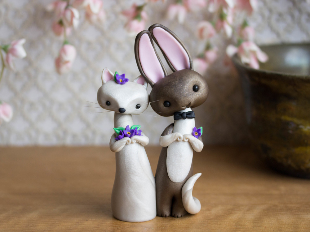 Cat & Rabbit Wedding