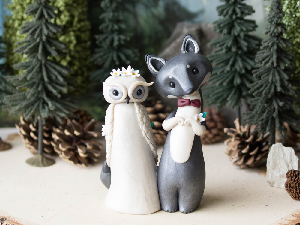Owl & Wolf Wedding