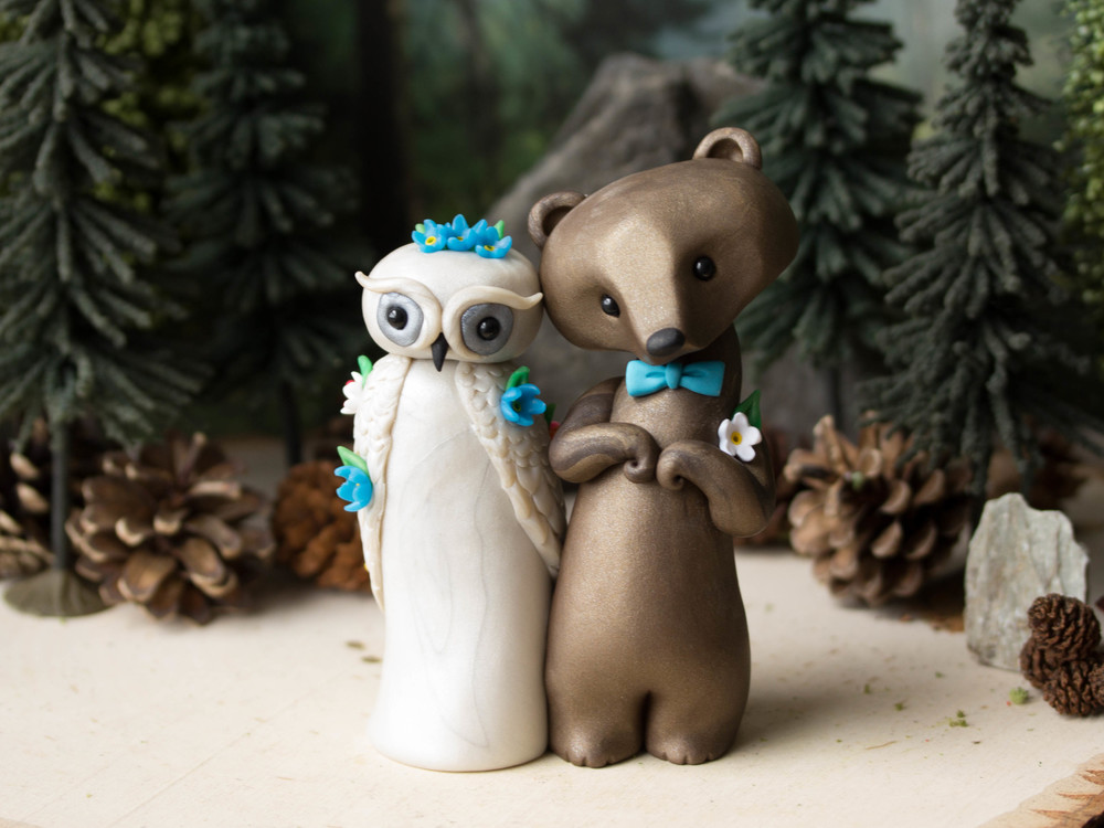 Owl & Bear Wedding