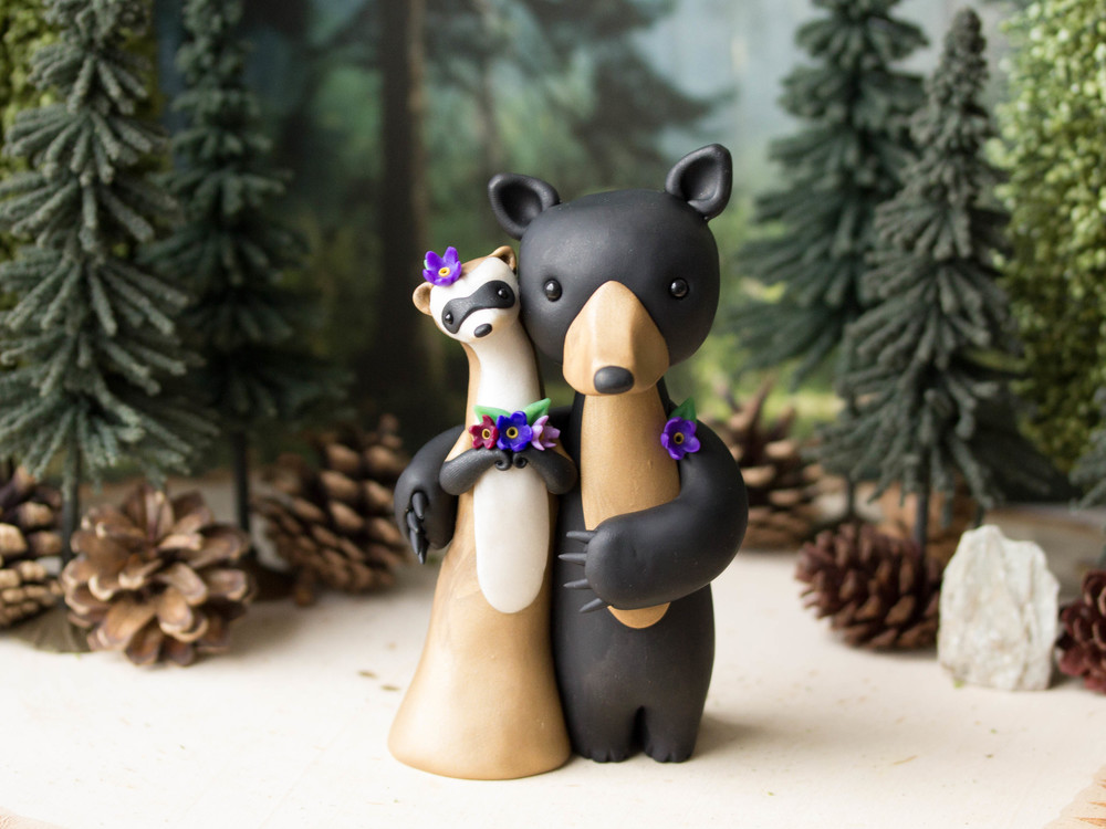 Ferret & Bear Wedding
