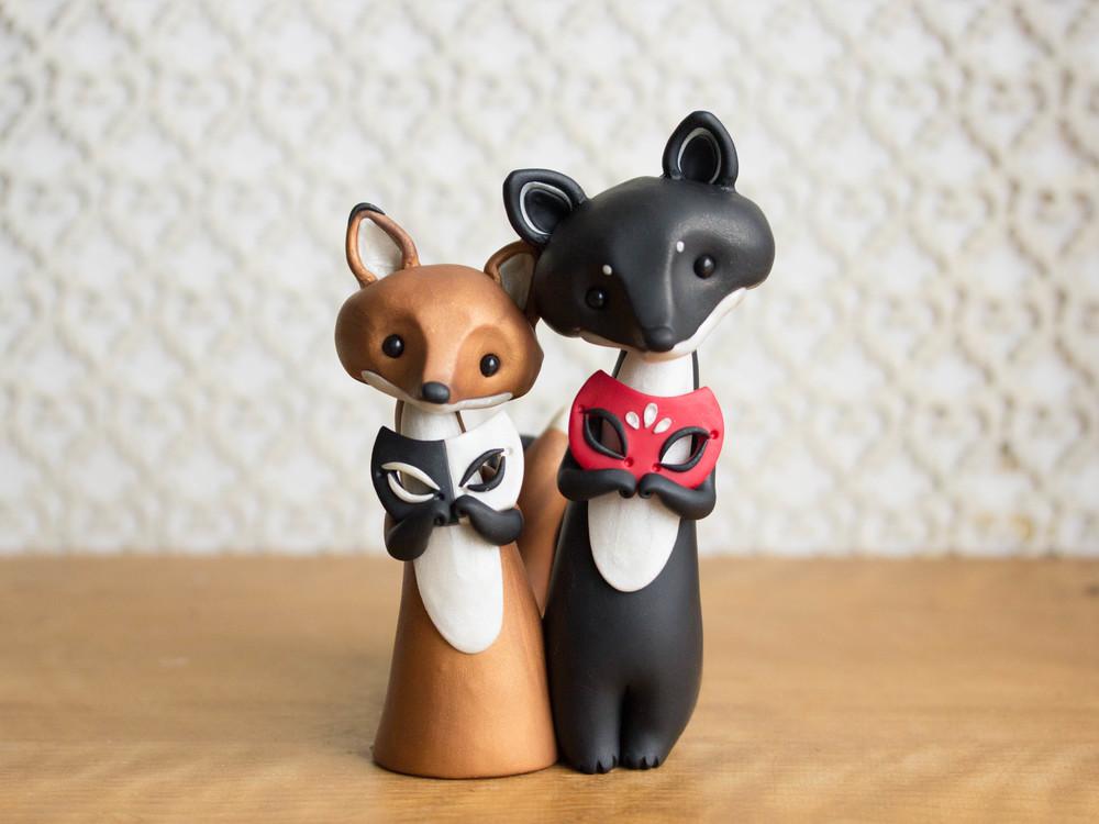 Fox & Wolf Masquerade