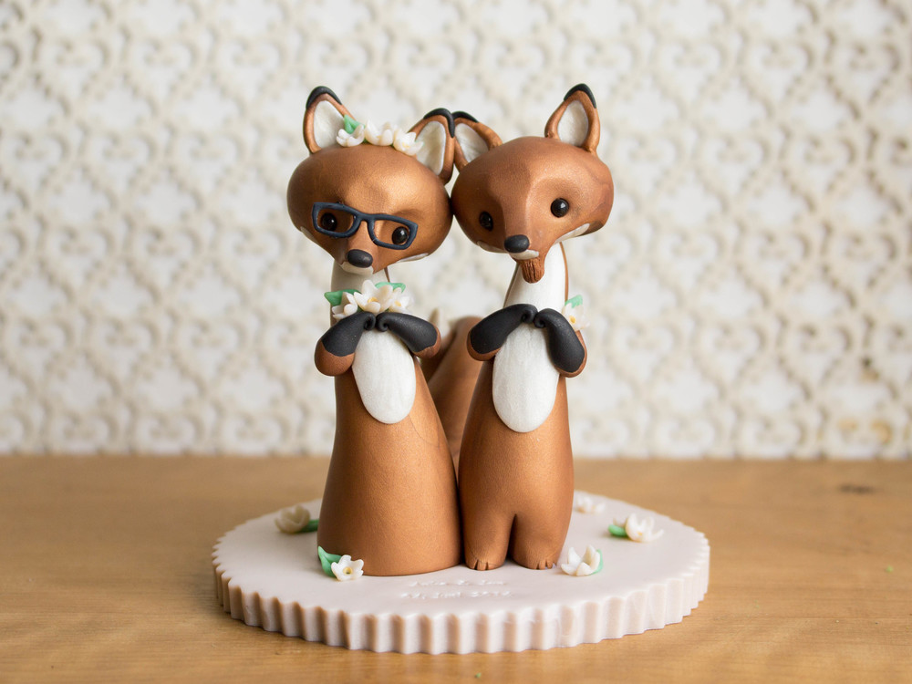 Custom Red Fox Wedding