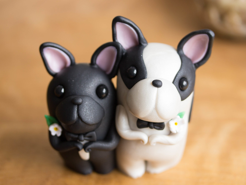 Custom French Bulldog Wedding