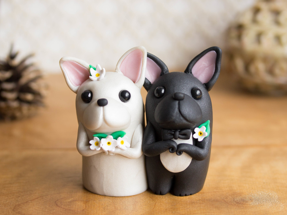 French Bulldog Wedding