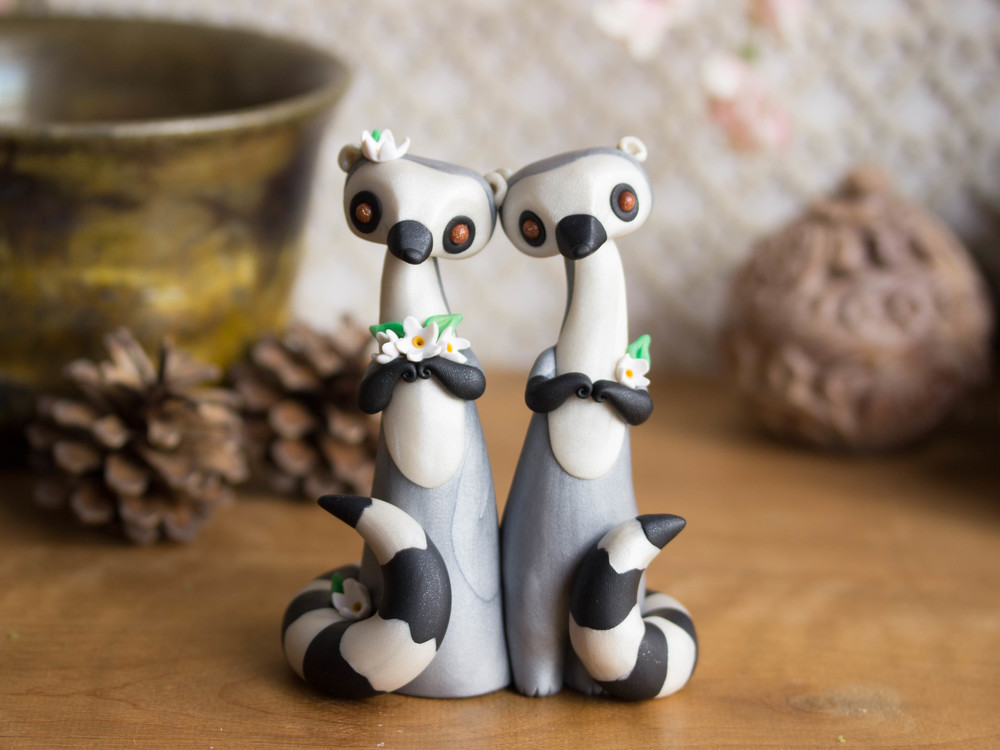 Ring-Tailed Lemur Wedding