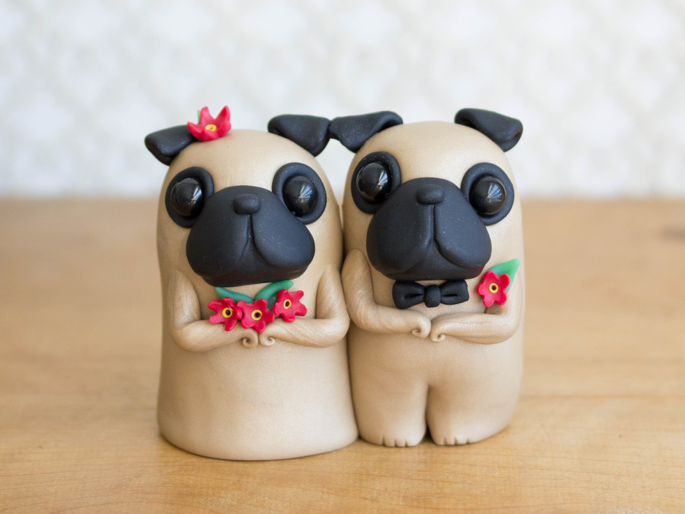 Custom Pug Wedding