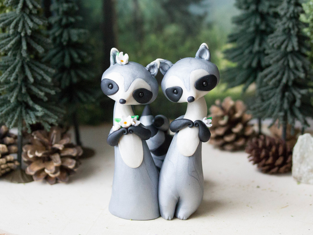 Raccoon Wedding