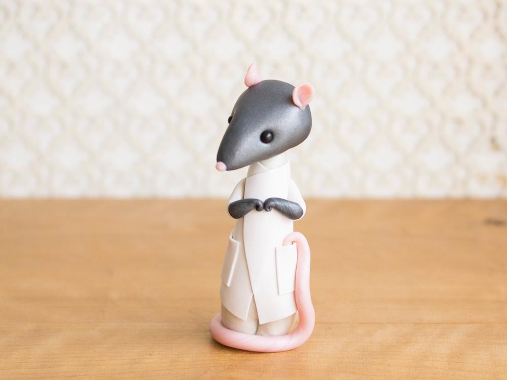 Laboratory Rat Poupette