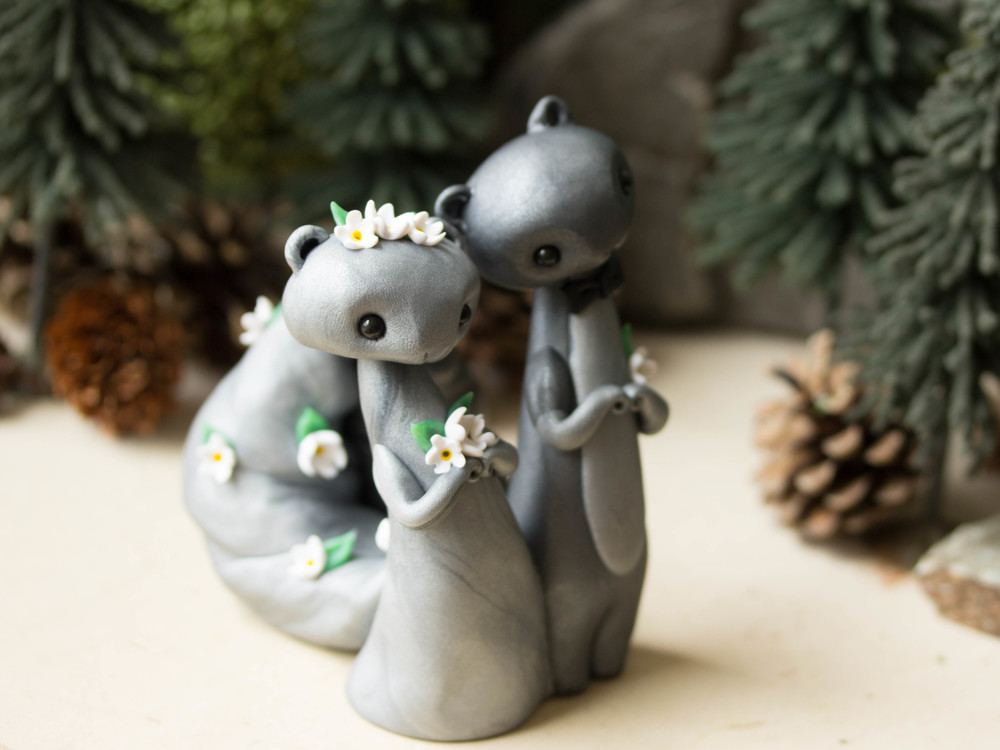 Grey Squirrel Wedding