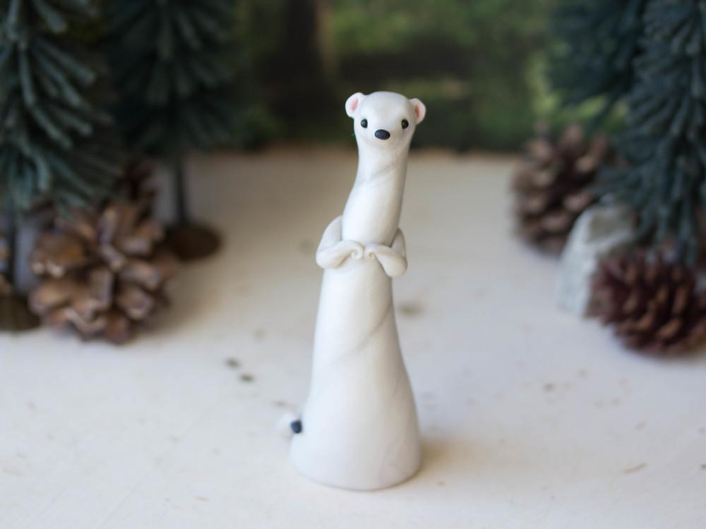 Ermine (Winter Weasel) Poupette