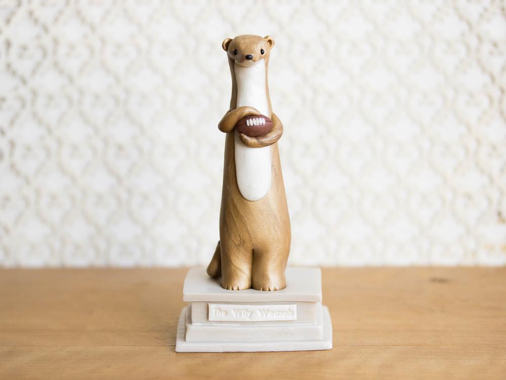Custom Weasel Statue