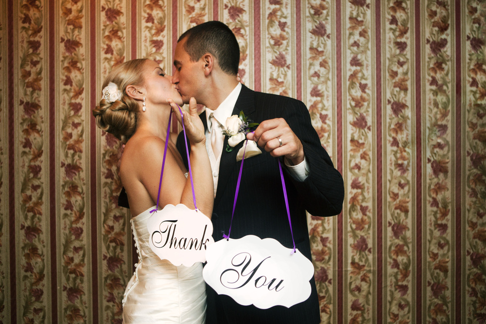Massachsuetts Wedding Photography, Thank You Card Idea, Highland Country Club in Attleboro MA