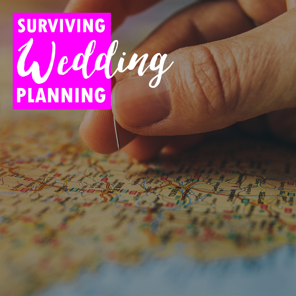 Just getting started with wedding planning? Let's start drawing the map to your day (lazy use of stock images not included).