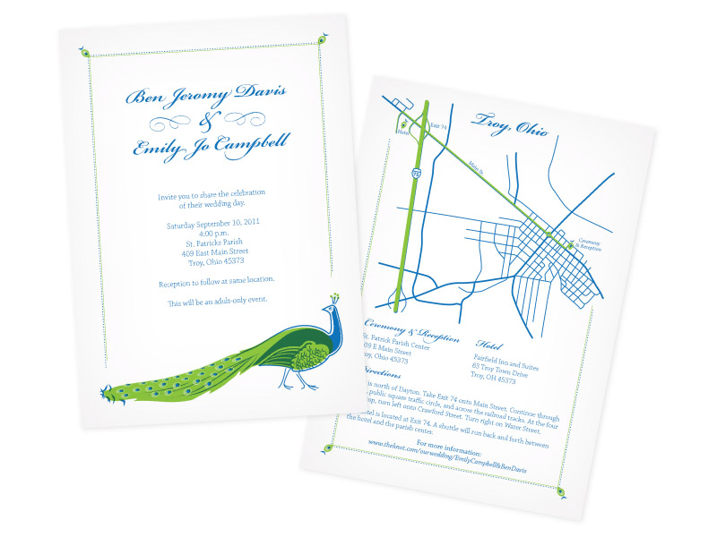 Ben & Emily's Wedding Invites
