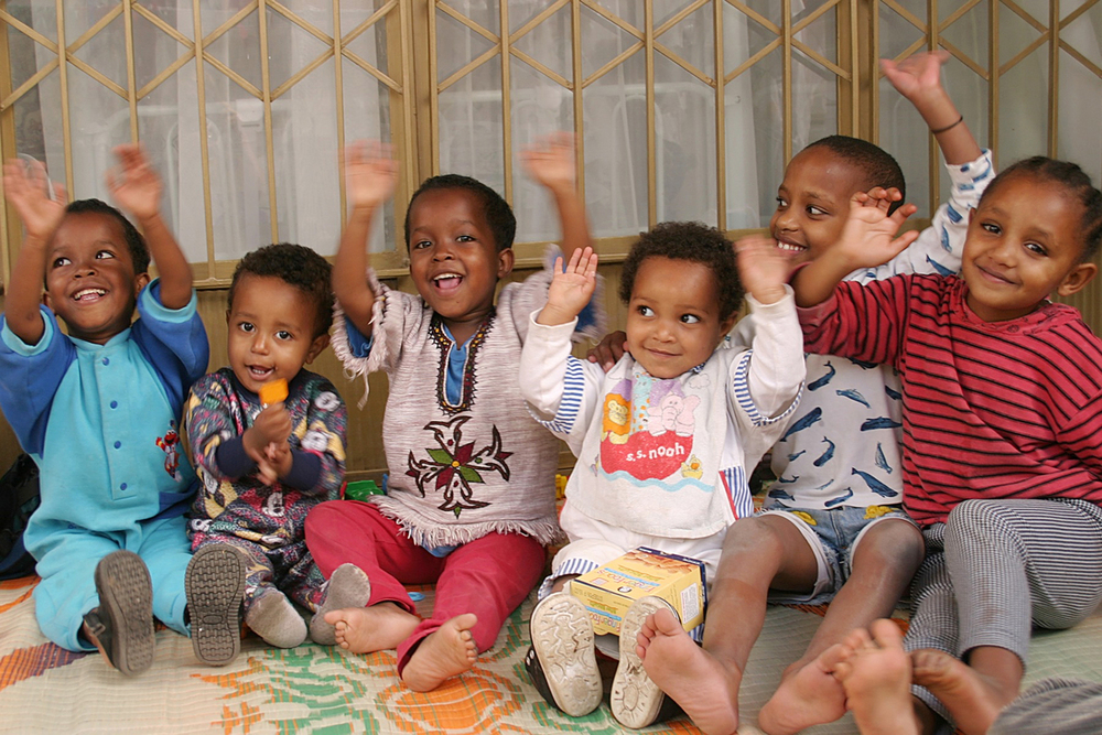 Orphanage in Ethiopia