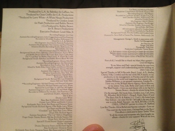 I'm a huge fan of liner notes, and I miss them from most digital downloads.