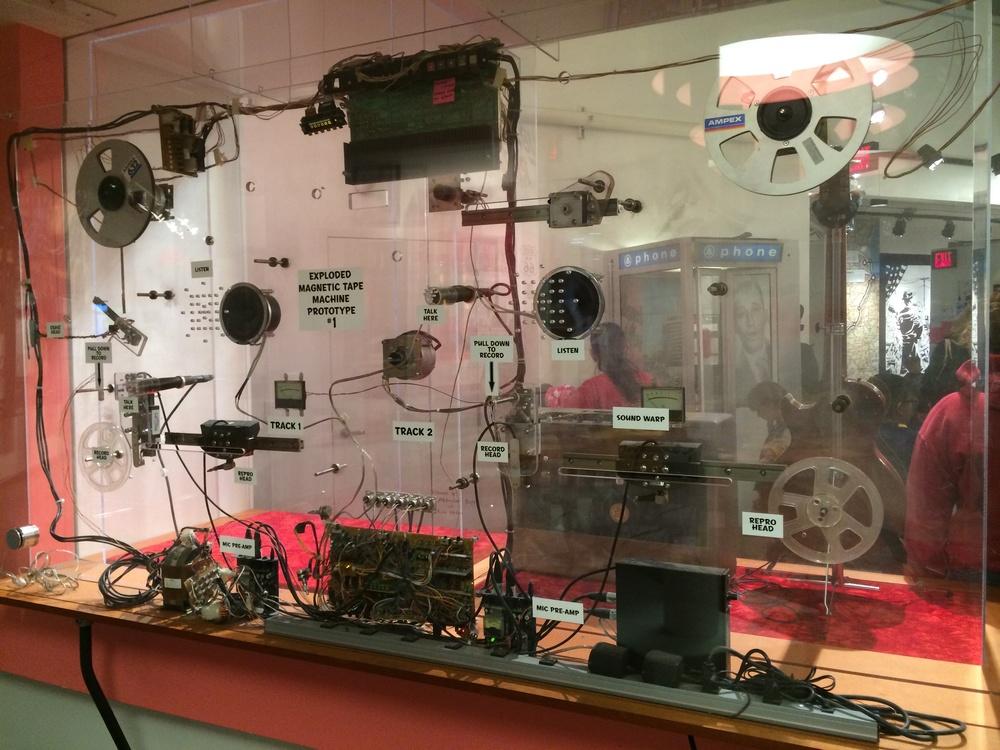 Basic hardware behind a recording studio