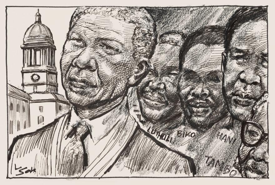 Image Credit: Len Sak (via Nelson Mandela Foundation)
