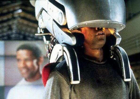Denzel Washington in Virtuosity (1995), Paramount Pictures