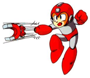 Mega Man loves Jupiter's magnetic fields