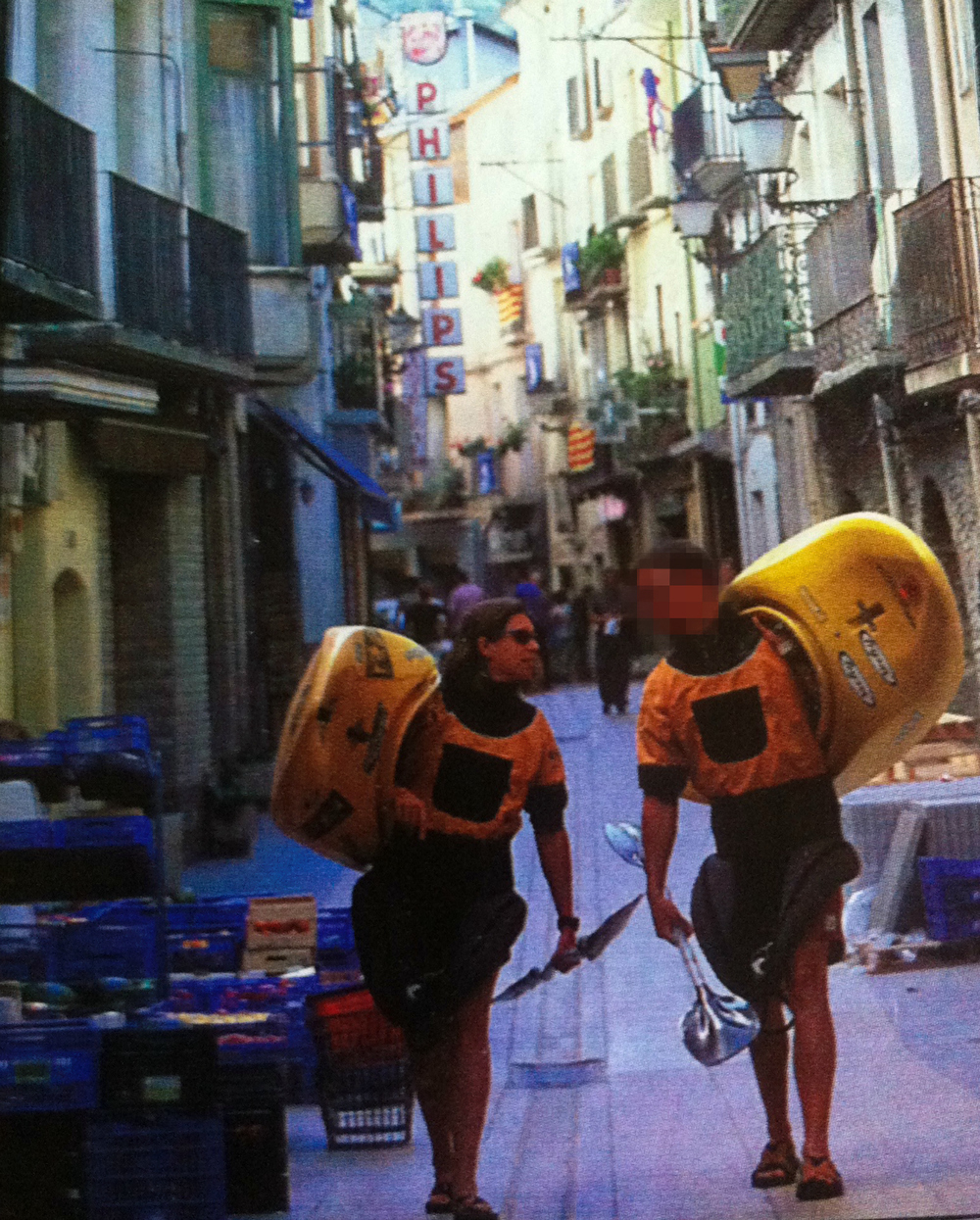 That's us in Spain for the 2001 World Championships
