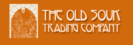 You can visit The Old Souk Trading Company on-line by clicking their logo above.