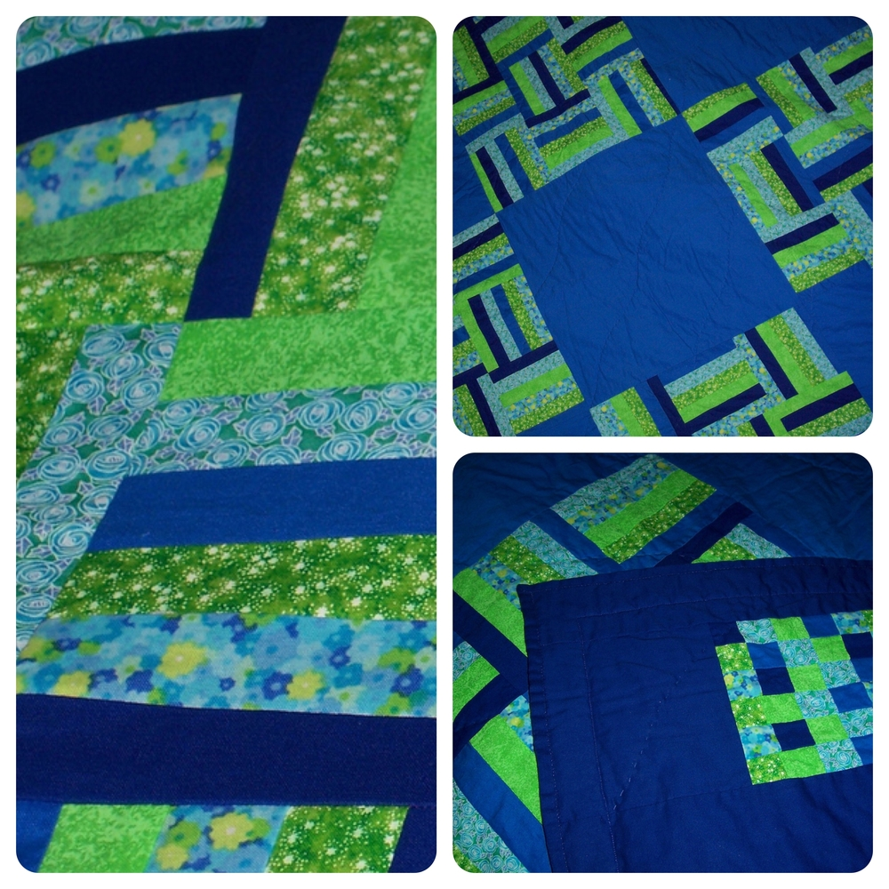 THROW SIZE QUILT
