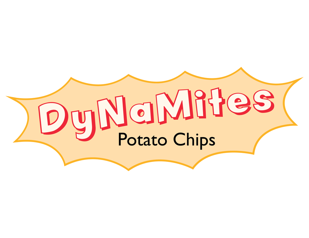 Logo for a potato chip company