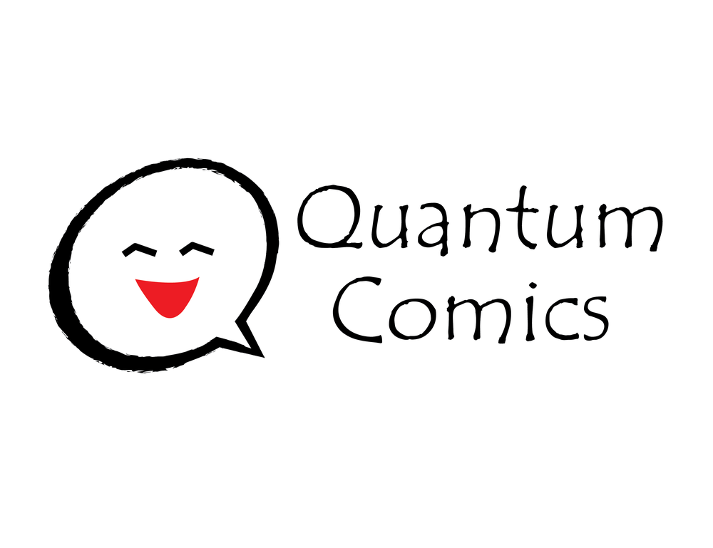 Comic book store logo
