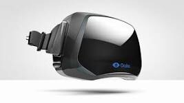 An image of the Oculus Rift