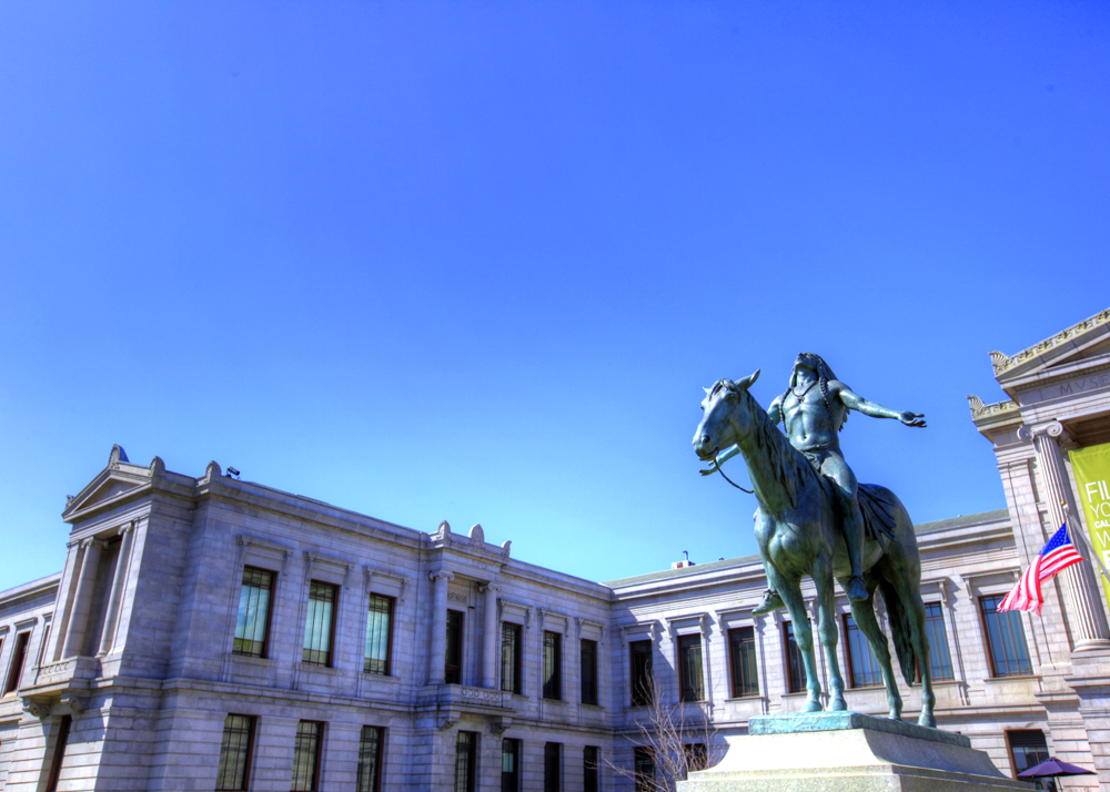 Appeal to the Great Spirit is a 1909 equestrian statue by Cyrus Dallin, at the Museum of Fine Arts, Boston.
