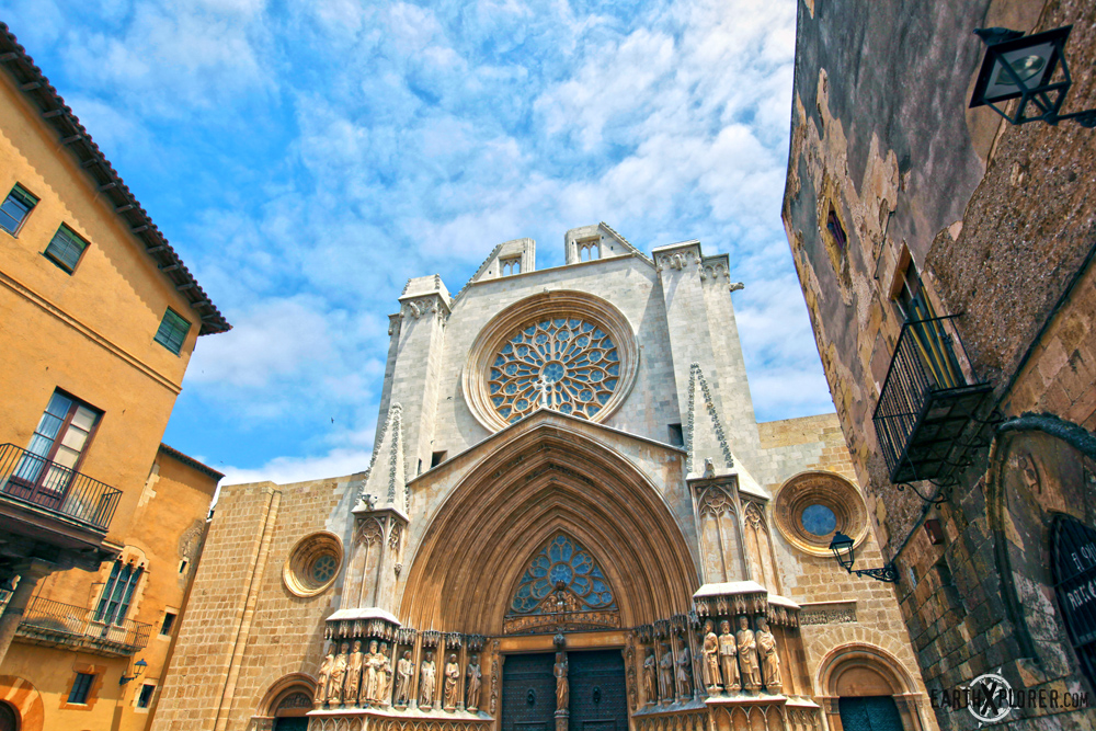 The Tarragona Cathedral