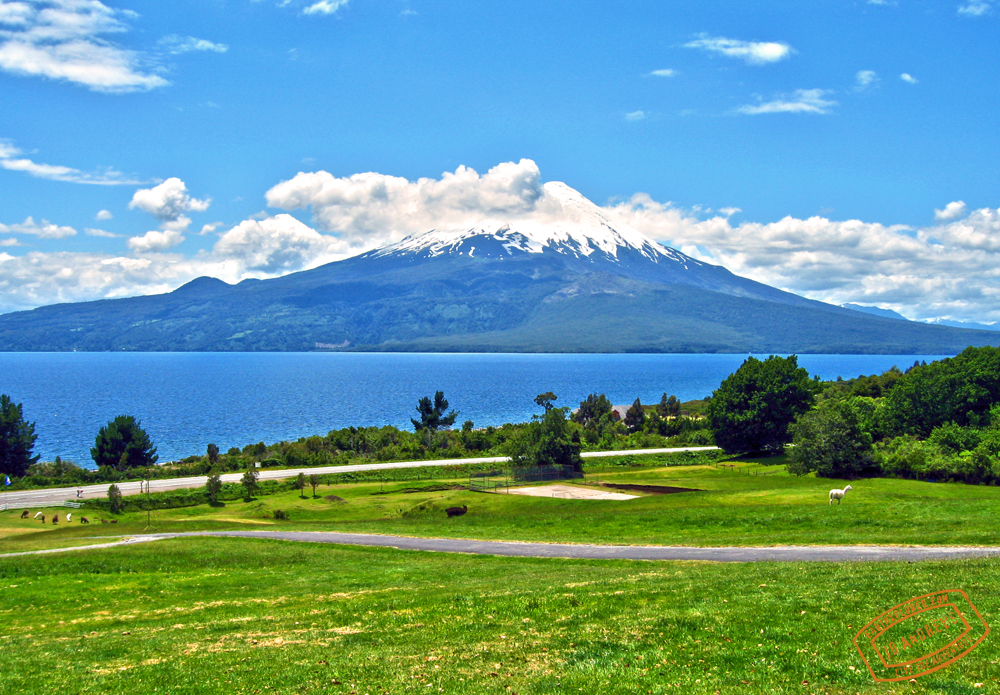 The Osorno Volcano in Chile