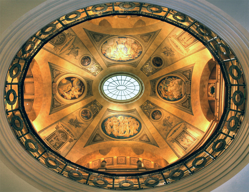 Rotunda at the Museum of Arts in Boston