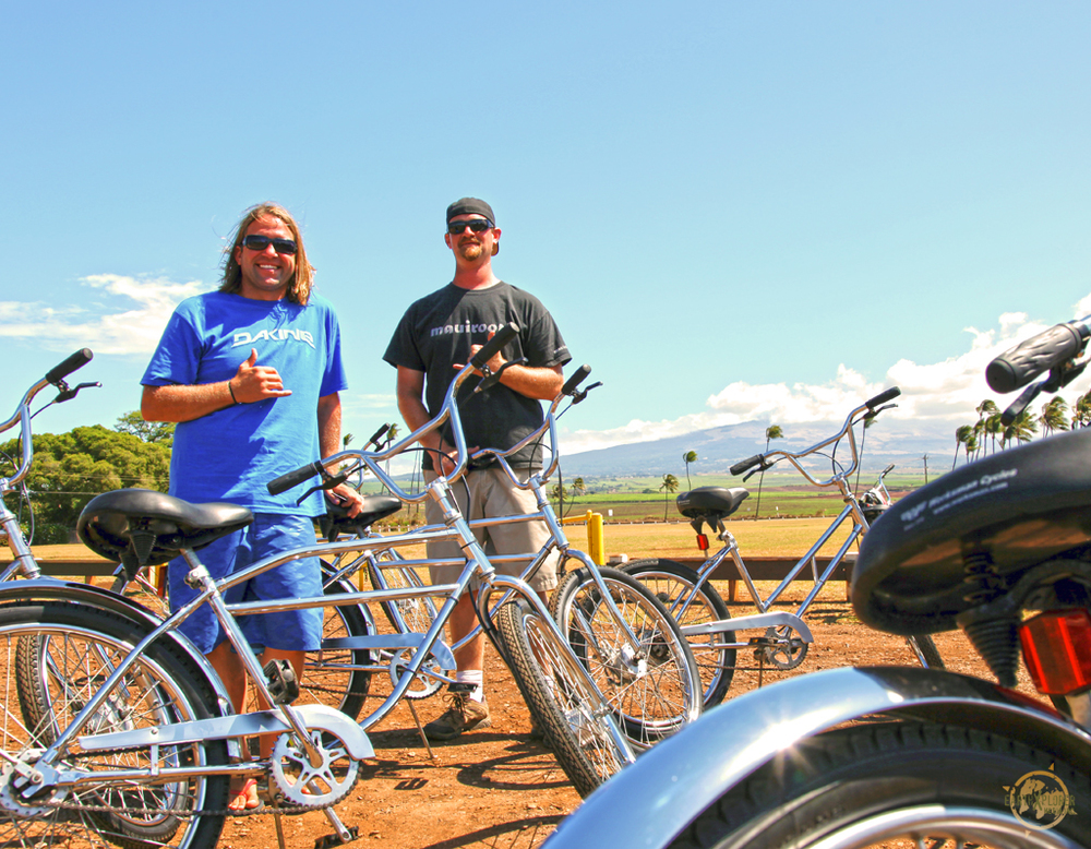 Come and experience the real pace of Maui with Easy Riders Bike Tours with owners Billy and Billy!