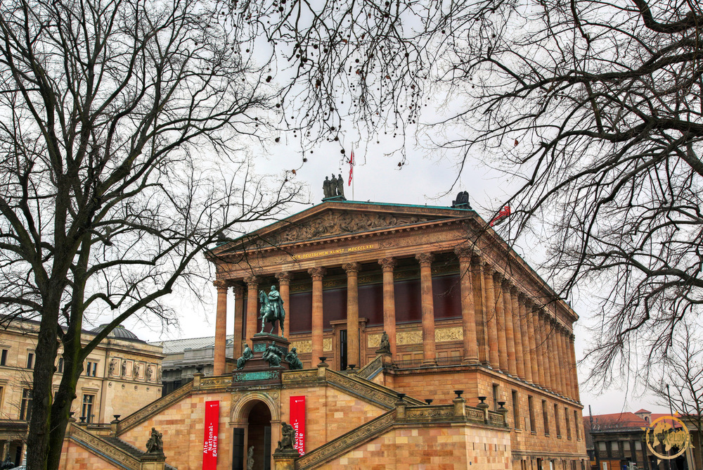 The Alte National Galerie (The National Gallery) in Berlin houses a collection of Neoclassical, Romantic, Biedermeier, Impressionist and early Modernist artwork.