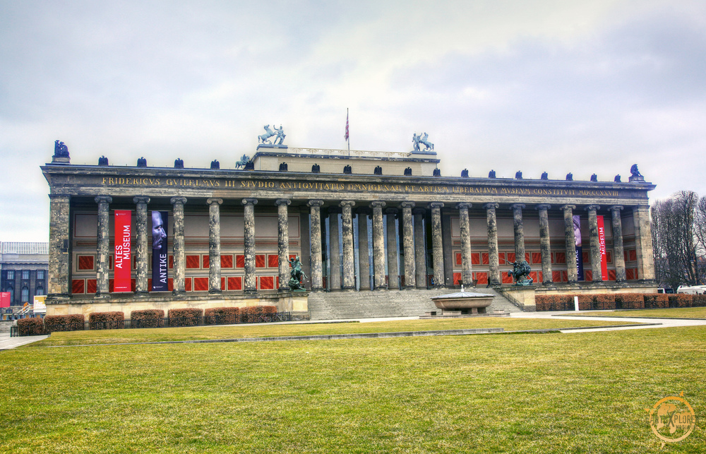 The Altes Museum is one of several internationally renowned museums on Museum Island in Berlin, Germany.