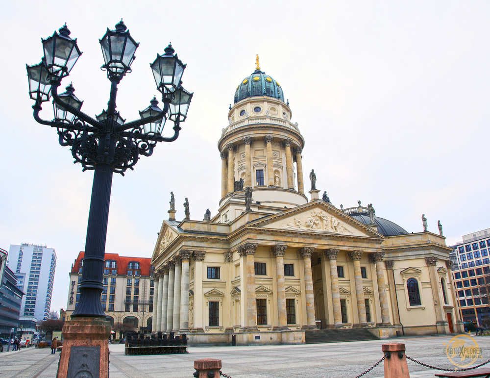The  Gendarmenmarkt is known as one of the most beautiful squares in Europe, Created at the end of the 17th century as a market place.