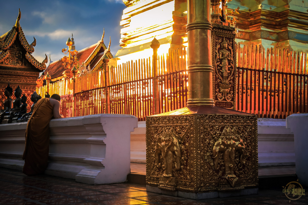 Praying Monk at Wat Phrathat Doi Suthep copy.jpg